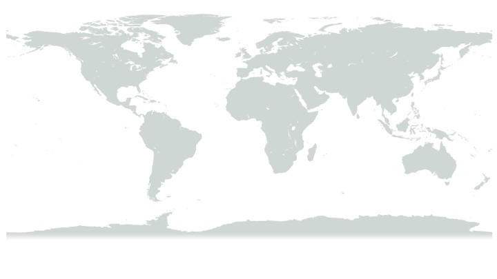 Worldwide Review Continents-Map